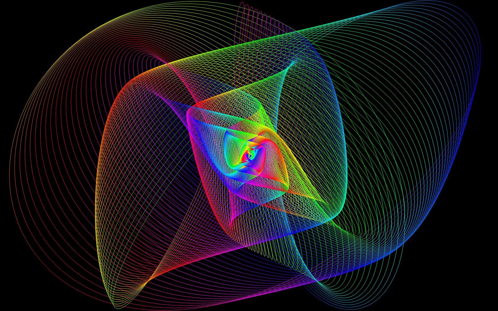 Spectral Harmonographs