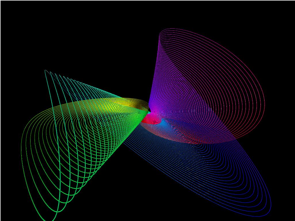 Online 3D Harmonograph